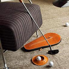 携帯用パターゴルフセット